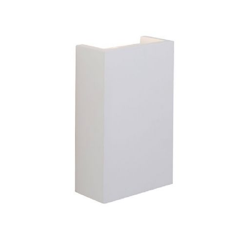 LED White plaster Wall Light BX61635-17 by Endon (Class 2 Double Insulated)